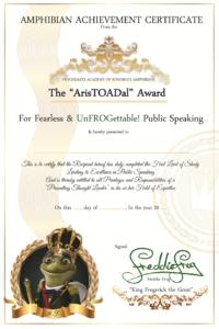 Aristoadal award